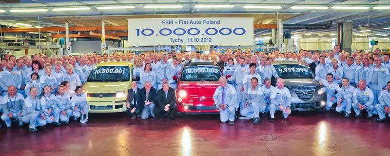 Photo of Fiat, στη Πολωνία το δέκατο εκατομμυριοστό όχημα!
