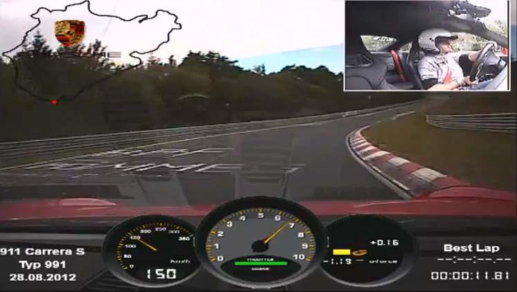 Photo of Με Porsche 991 Carrera S στο Nurburgring [vid]