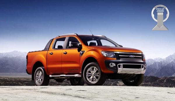 Ford Ranger Wins 'International Pickup Award 2013'