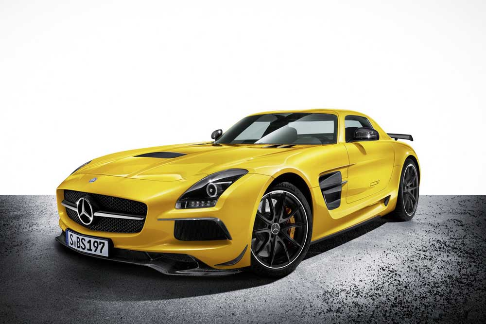 Photo of Mercedes-Benz SLS AMG Black Series, μαύρη μαγεία!