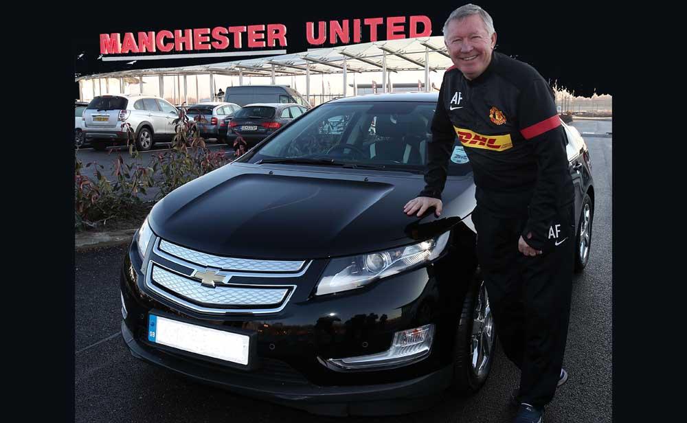 Photo of Chevrolet, Volt-άρει o Sir Alex Ferguson!