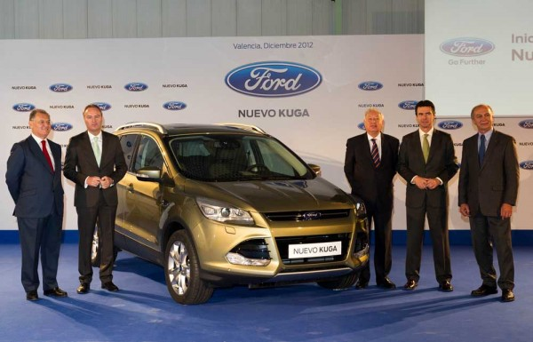 Ford Begins Production of New Kuga
