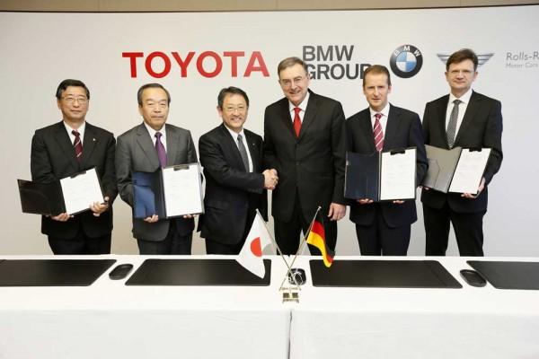 BMW Toyota agreement