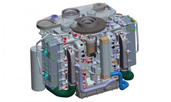 Single-module Cox powerhead unit
