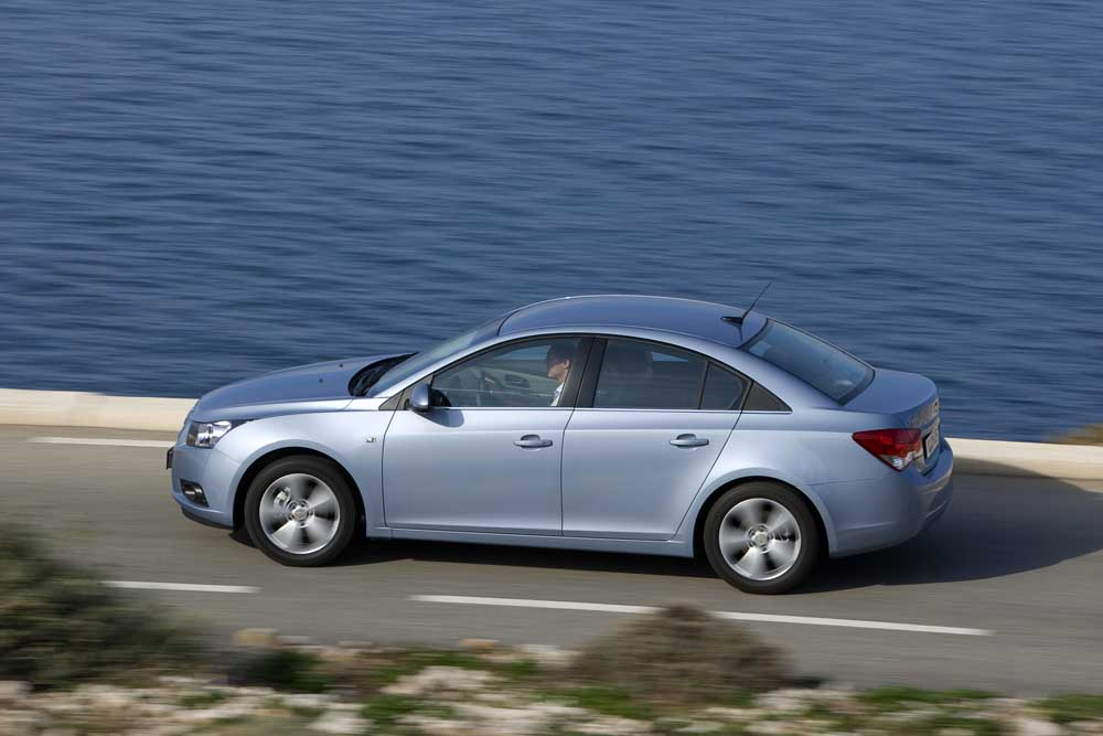 Photo of Chevrolet Cruze Sedan 1.6 LPG [test drive]