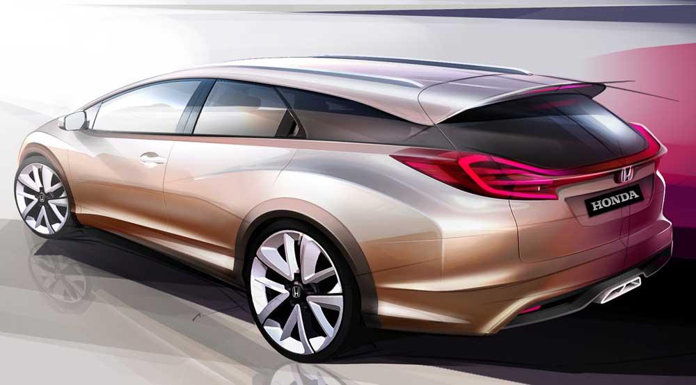 Photo of Honda, τέλη 2013 το νέο Civic Wagon!