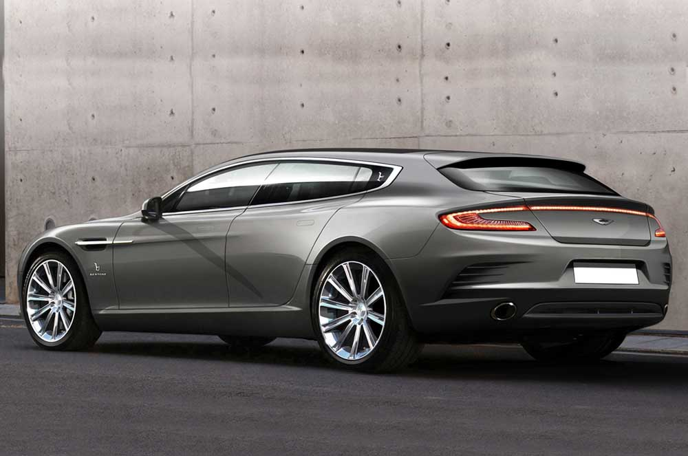 Photo of Aston Martin Rapid, δια χειρός Bertone η Shooting Brake!