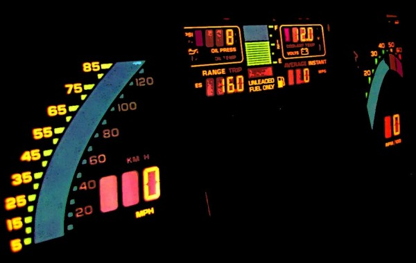 Corvette Digital Dash Panel Render