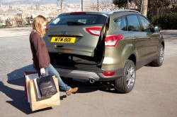 All New Ford Kuga Automatic Handsfree Tailgate