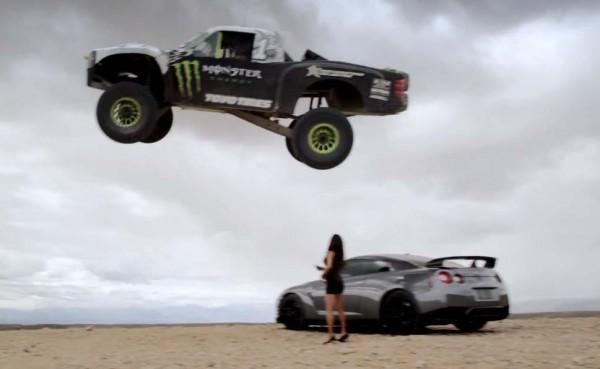 monster pick-up nissan gt-r
