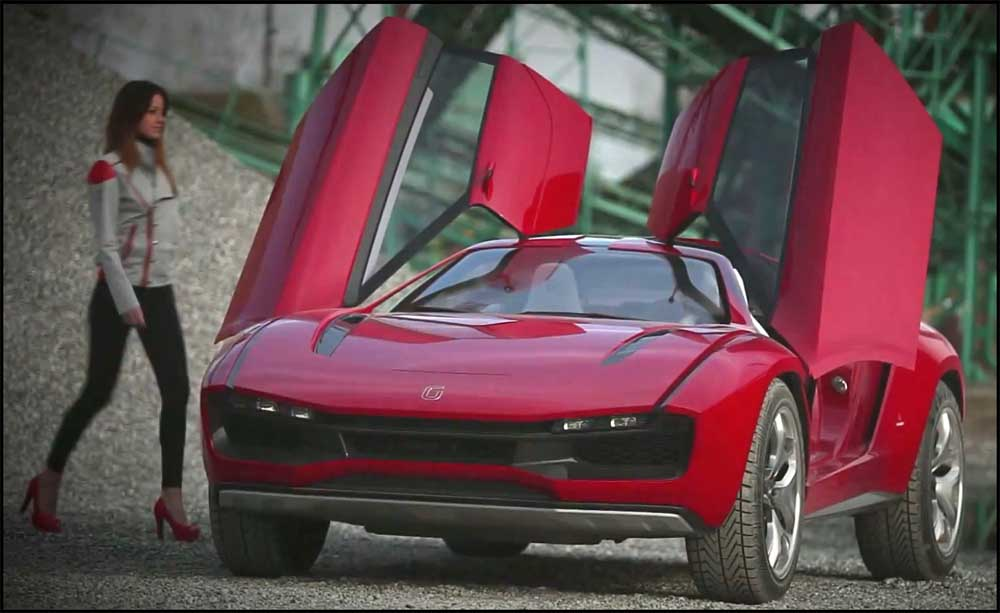 Photo of Giugiaro Parcour, με την ισχύ της Lamborghini!