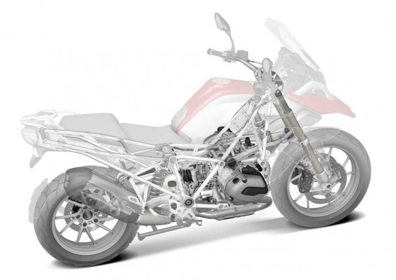 2013 new BMW R 1200 GS Air-water-cooled boxer engine (11)
