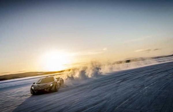 McLaren P1 heads to the Arctic Circle (5)