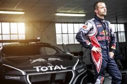 Sebastien Loeb test Peugeot 208 T16 Pikes Peak