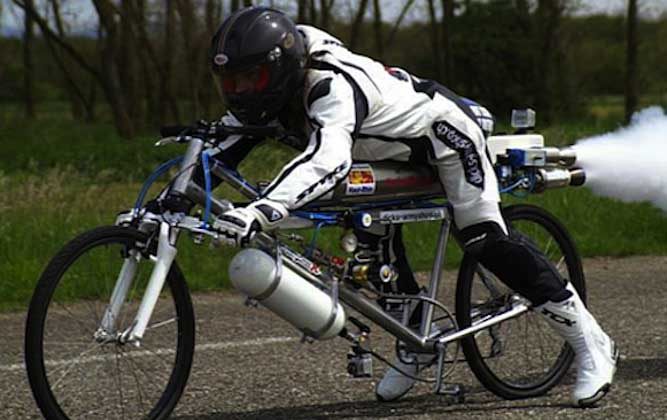 Photo of Ποδήλατο «πιάνει» 263 km/h!