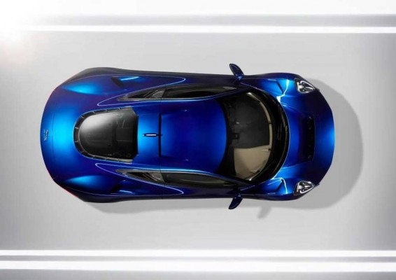 Jaguar C-X75 end