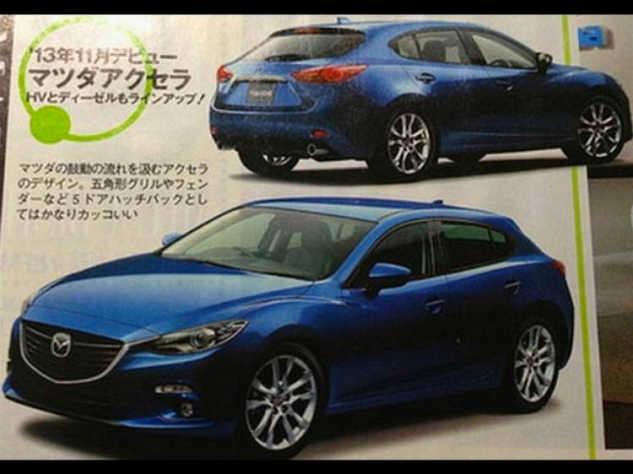 Photo of Διαρροή για το νέο Mazda 3!