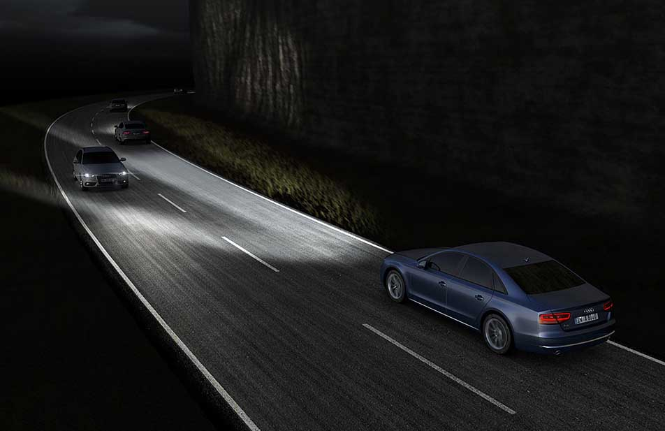 Photo of Νέα τεχνολογία φωτιστικών σωμάτων Audi Matrix LED!