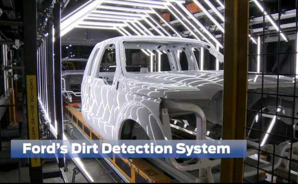 Ford Detection Dirt System