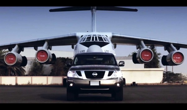 Nissan Patrol Sets New World Record for Pulling the Heaviest Aircraft