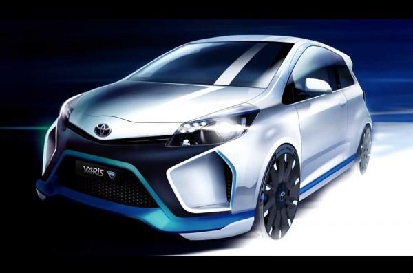 Toyota Yaris Hybrid-R first photo