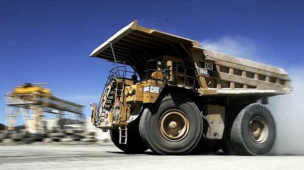 mining truck LW