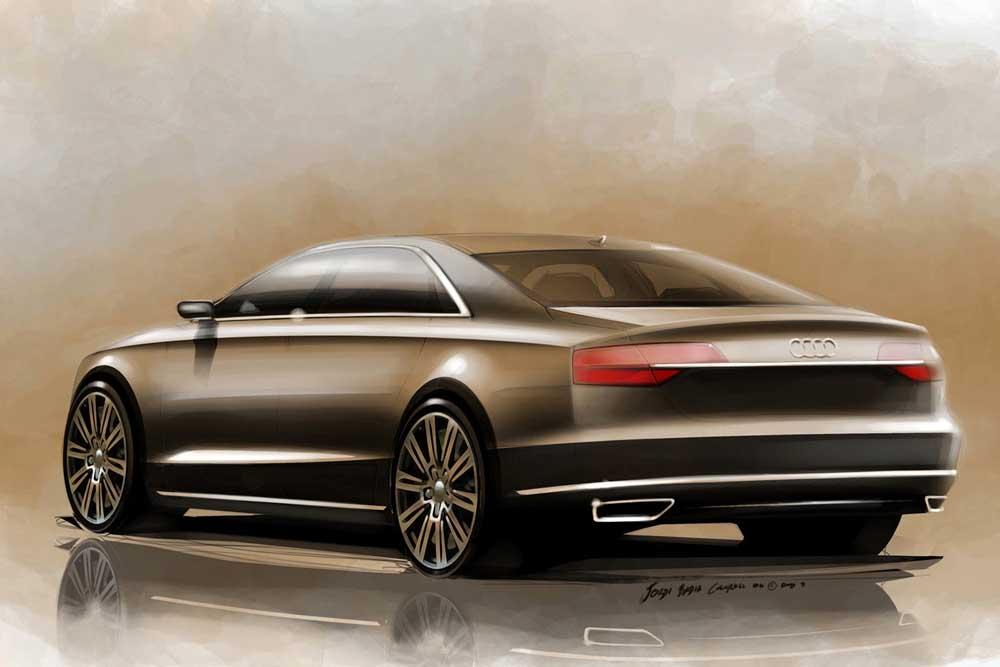 Photo of Ανανεωμένο Audi A8 με τεχνολογία Matrix!
