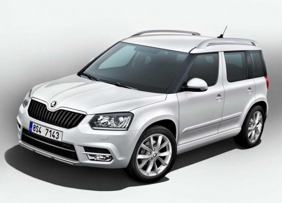 new Skoda Yeti facelift leaked 2014 (1)