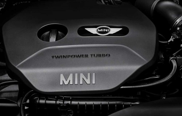 3cylinder new MINI TwinPower Tirbo
