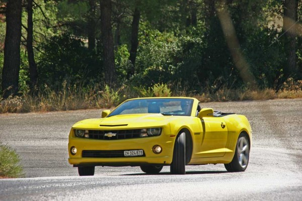 Chevrolet Camaro Convertible caroto test 2013 (11)