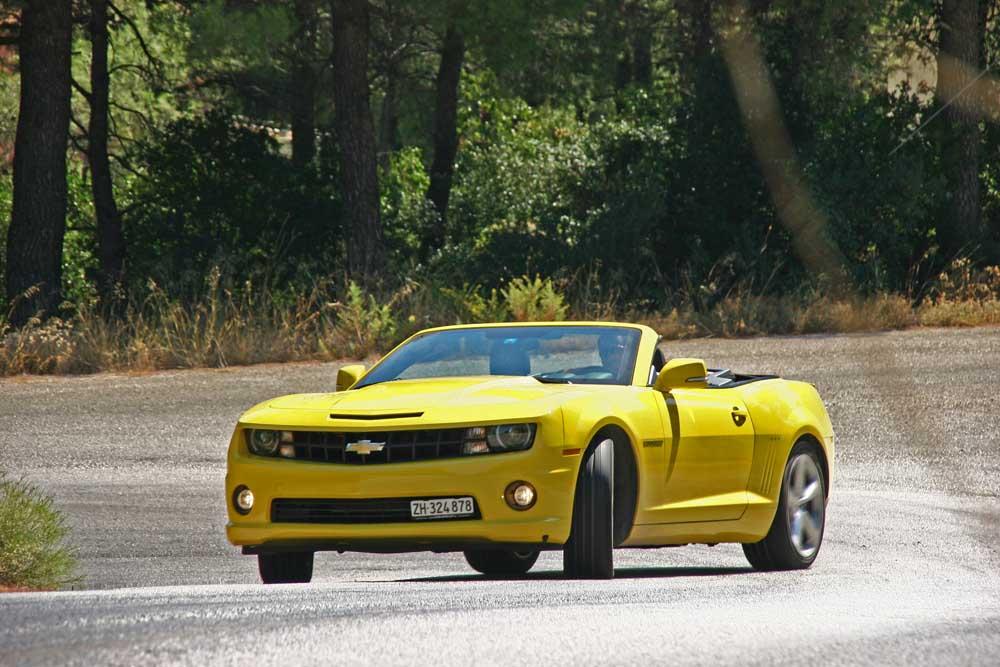 Photo of Chevrolet Camaro Convertible [test drive]