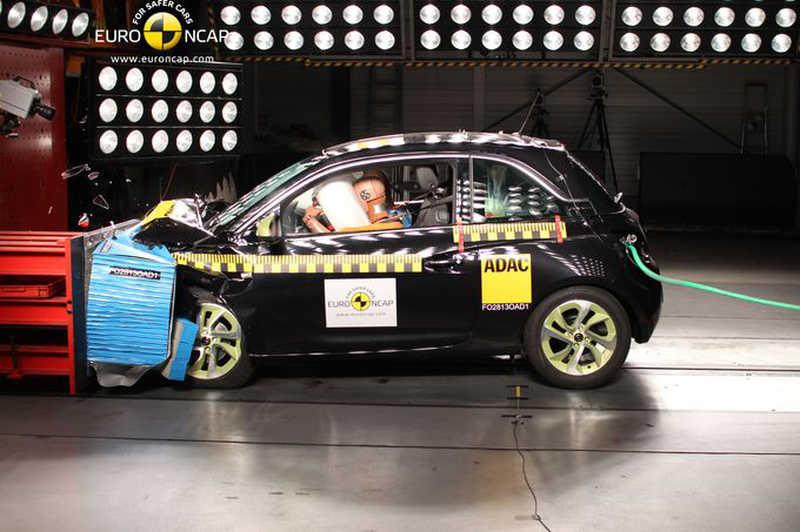 Photo of EuroNCAP, τετράστερα τα Opel Adam και Mitsubishi Space Star