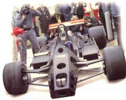 The first carbon monocoque McLaren MP41 1980