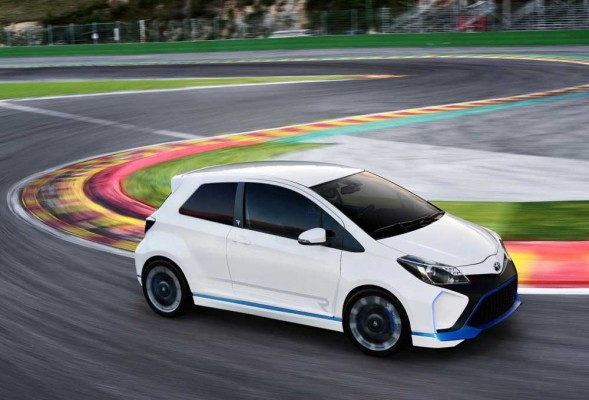 Toyota Yaris Hybrid-R official images (5)