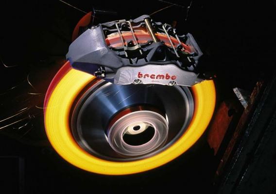 brembo hot brake