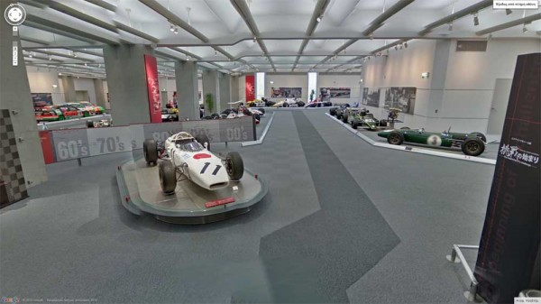 Tour Honda Collection Hall Museum in Japan with Google Maps