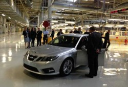 SAAB officially 9-3 production in Sweden