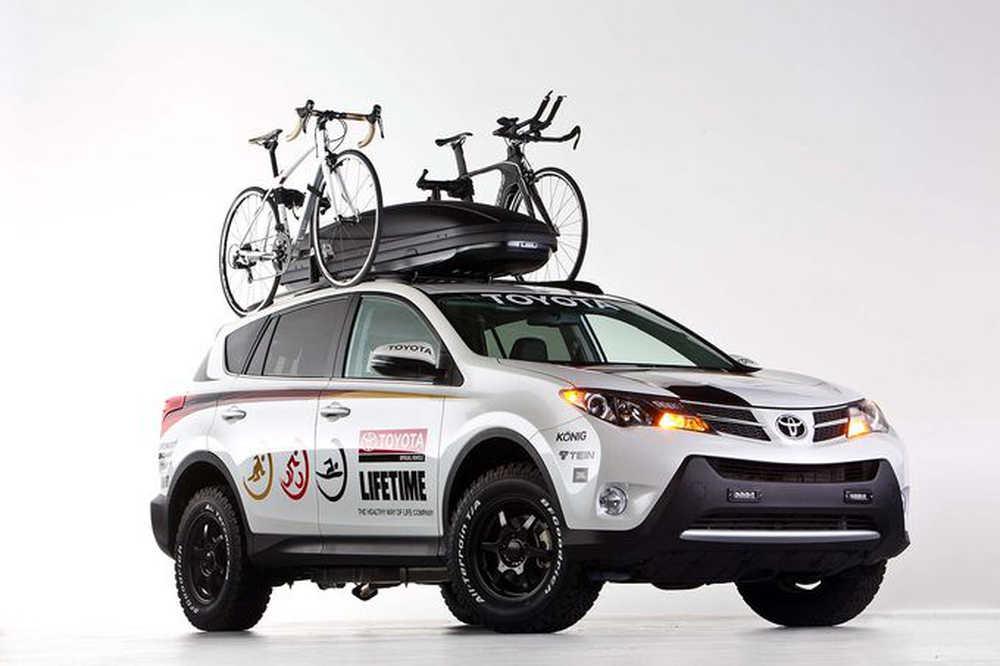 Photo of Toyota SEMA, με θεματικά πρωτότυπα.