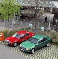 Mercedes past electric cars - C-Class 190 E Elektro electric prototype (6)