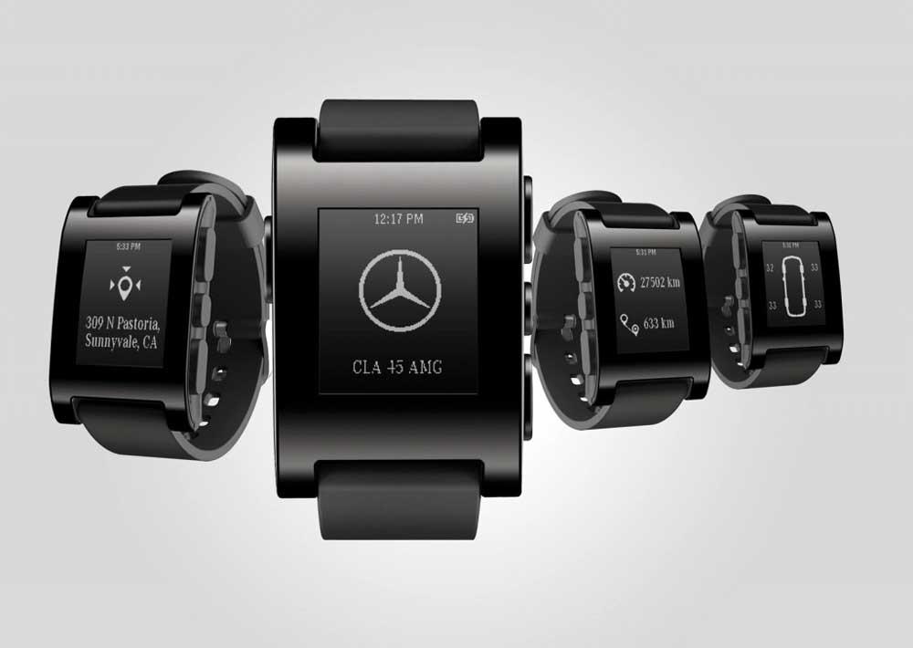 Photo of Mercedes-Benz, έξυπνο ρολόι για έξυπνα αυτοκίνητα!