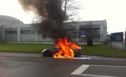 Porsche 911 GT3 fire in Switzerland (2)