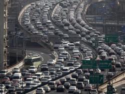 china pollution car traffic problem (1)
