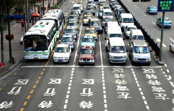 china pollution car traffic problem (4)