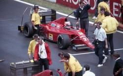 1989 Nigel Mansell Ferrari 640 - Ferrari 035 V12