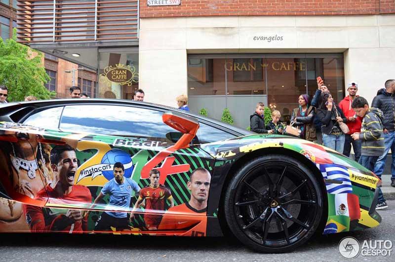 Photo of Μία Lamborghini για το Μουντιάλ.