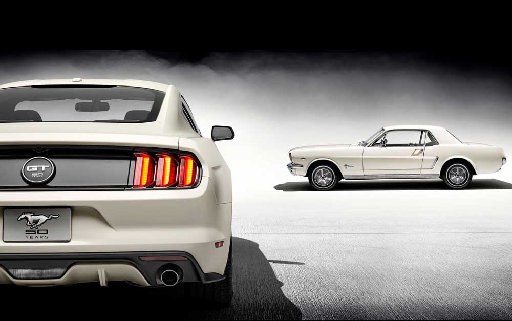 Photo of Ειδική έκδοση Ford Mustang 50 Year Limited Edition