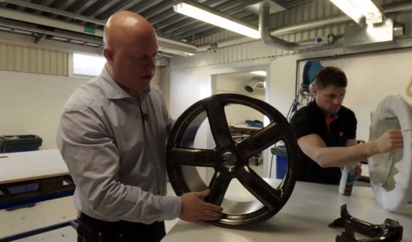 Koenigsegg shows how they make carbon fiber wheels