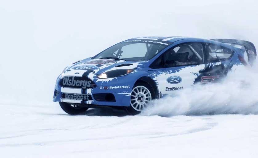 Photo of Το Ford Fiesta ST rallycross car επιτίθεται σε …Σουηδούς χιονάνθρωπους!
