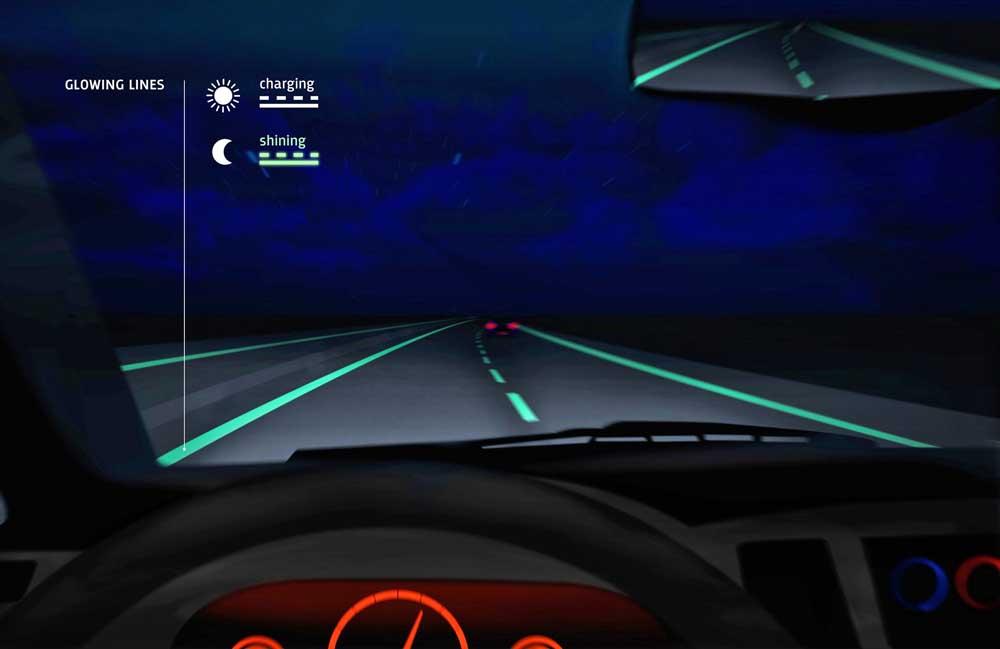 Photo of Φωσφοριζέ δρόμοι για οδήγηση δίχως φώτα!