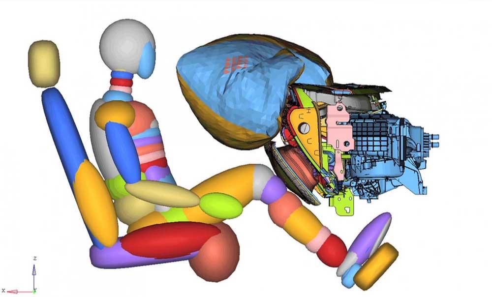 Photo of Πρωτότυπος αερόσακος γονάτων από την Ford.